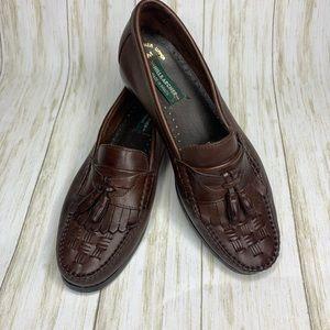 Hill & Archer men's brown tasseled loafer Size 10